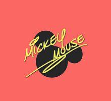 Mickey Symbol & Signature by kferreryo