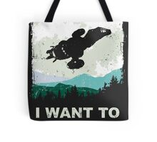 I Want To Be A Leaf (Serenity & The X-Files) Tote Bag