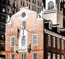 Old State House, Boston, Massachusetts by Elizabeth Thomas