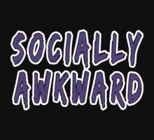 Purple Socially Awkward by lonelycreations
