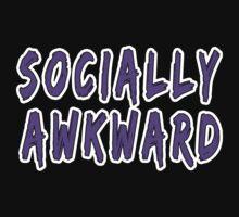 Purple Socially Awkward by Jason Moncrise