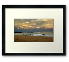 Seaside view Framed Print