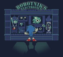 Robotnik's Electronics by coinbox tees