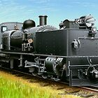 VicRail 2-6-0 + 0-6-2  G-Class Garratt  (G41) by LocomotiveArt