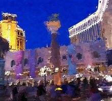 Las Vegas, The Venetian Casino by Slipscreens