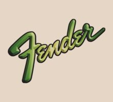 Fender Bold (b&G) decoration Clothing & Stickers by goodmusic