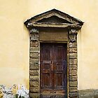 Doorway, Florence, Italy by buttonpresser