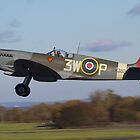 Spitfire Take Off by Mike Rivett