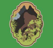 Vintage Bigfoot Framed by cesstrelle