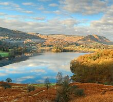 Grasmere Panorama by VoluntaryRanger