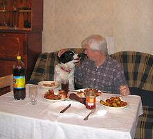 Is it OK if I Start My Food Now Dad by Dennis Melling
