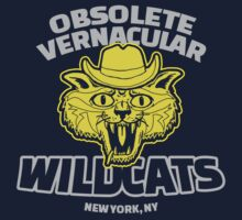 Obsolete Vernacular Wildcats (Royal Tenenbaums) by Tabner