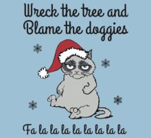 Wreck the tree and blame the doggies by artemisd