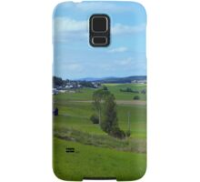 Old tree, country road and a cloudy sky | landscape photography Samsung Galaxy Case/Skin