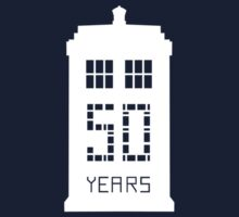 Doctor Who 50 Years by kelvclothing