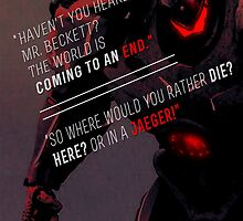Pacific Rim Quote Poster by Bluebird