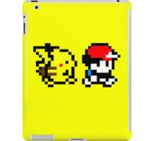 Pokemon Ash and Pikachu iPad Case/Skin