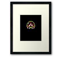 Metroid  8bit Framed Print