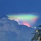 Cuban Rainbow in the Clouds. by vette