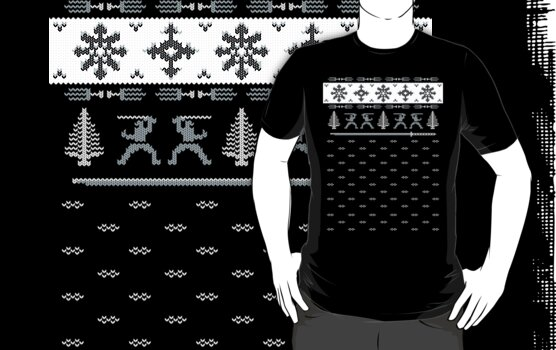 Silent Nigh-NINJA! Winter Sweater by SevenHundred