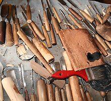 Woodworking Bench by rhamm