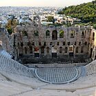 Theatre of Herodes Atticus - AD 161 by Ren Provo