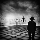 Of matchstick men and you by Adrian Donoghue