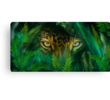 Jungle Eyes - Jaguar Canvas Print