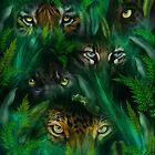 Jungle Eyes by Carol  Cavalaris