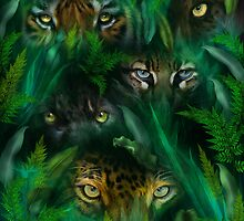 Jungle Eyes by Carol  Cavalaris