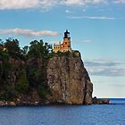 Split Rock Light House by Tina Hailey