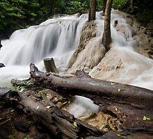 Tier one Erawan Falls by Kenji Ashman