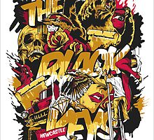 Black Keys Poster by r3ddi70r