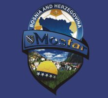 Bosnian-Mostar-Soccer Shield by MGraphics