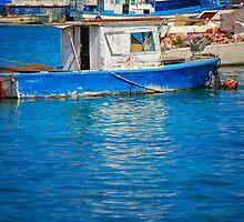 Fisherman boat by Rashad Penn