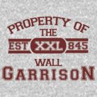 Attack on Titan - Sports Theme! Property of The Wall Garrison by cplravioli