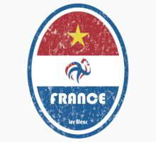 World Cup Football 7/8 - France (Distressed) by madeofthoughts