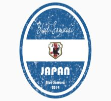 World Cup Football - Japan (distressed) by madeofthoughts