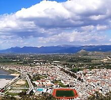 panorama of Nafplio by tbshots