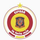 World Cup Football 8/8 - Team Espana by madeofthoughts