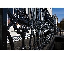 Intricate Georgetown Shapes and Shadows - Washington, DC  Photographic Print