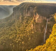 Jurasic - Govetts Leap, Blackheath NSW - The HDR Experience by Philip Johnson