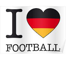 I ♥ GERMANY Poster