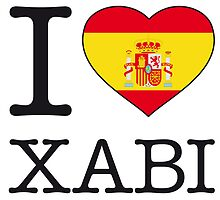 I ♥ XABI by eyesblau