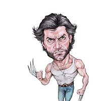 The Caricature Of Wolverine by pireX