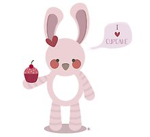 I Love Cupcakes by estherilustra