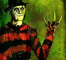 Freddie Krueger by Ian Jones