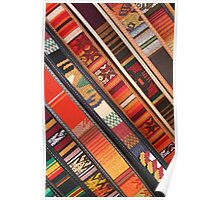 Colorful Belts Poster