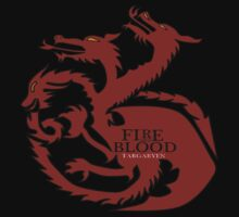 HOUSE TARGARYEN- FIRE AND BLOOD by IvaIvanovaART