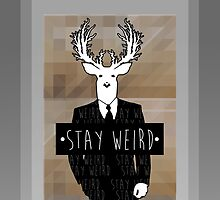 •stay weird• deer by Alexander Traykov